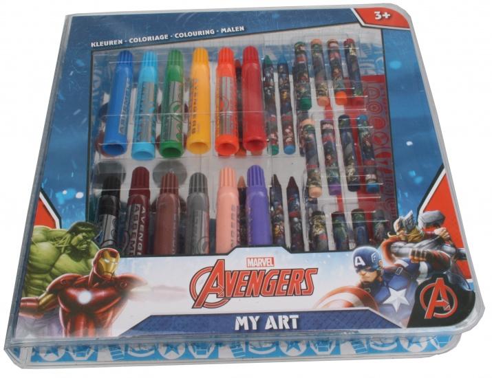 Marvel Avengers My Art kleurset 51 delig