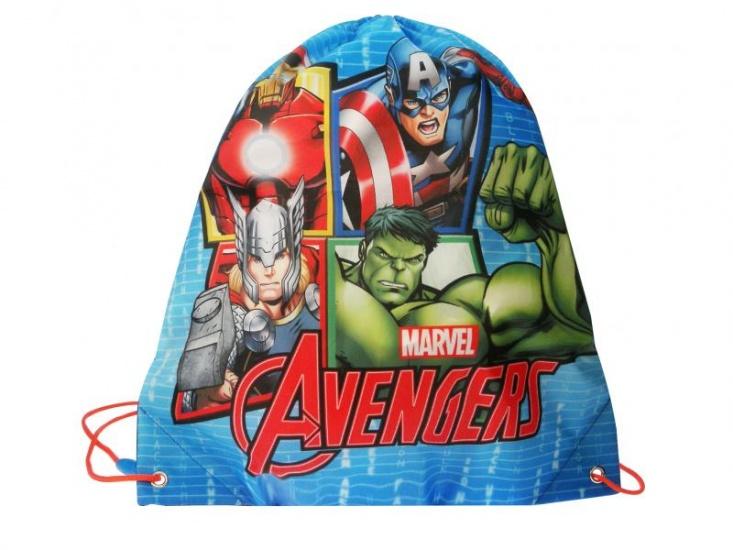 Marvel Avengers United Gymtas blauw 1,6 liter