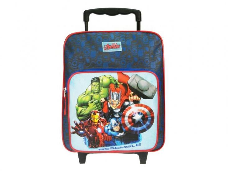 Avengers United Trolley rugzak blauw 10 liter