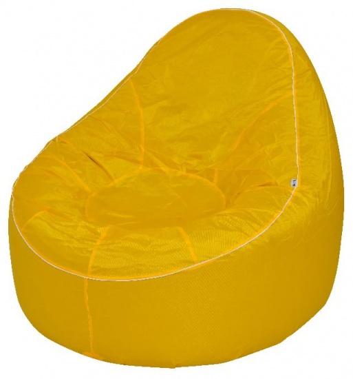 avenli Opblaasbare sofa 118 x 110 x 90 cm geel