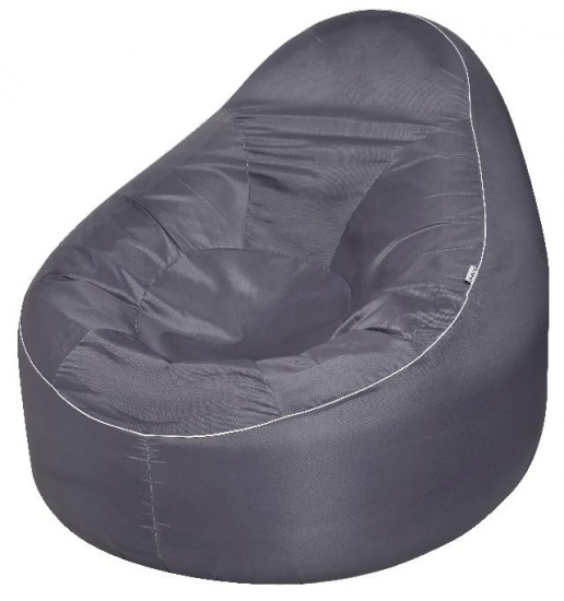 avenli Opblaasbare sofa grijs 118 x 110 x 90 cm