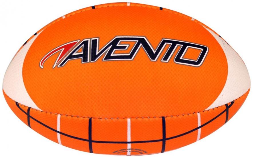 Avento American Football Soft Touch Fluororanje/Wit/Blauw