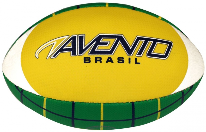 Avento American Football Soft Touch Geel/Blauw/Wit/Groen