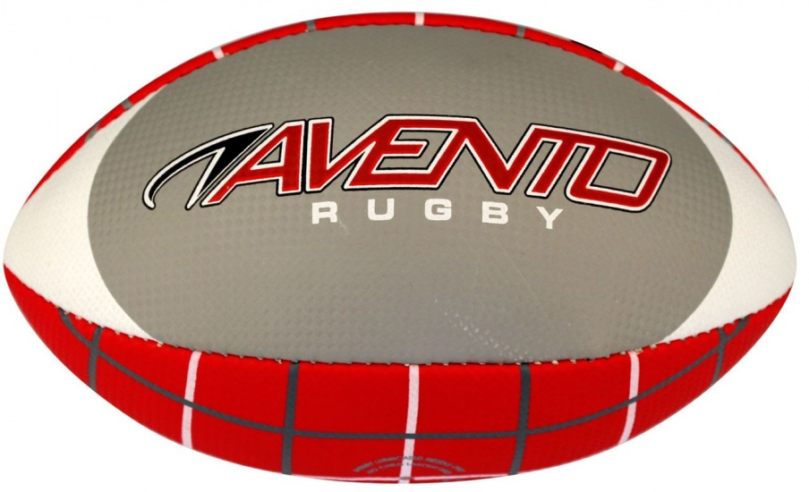 Avento American Football Soft Touch Grijs/Wit/Rood