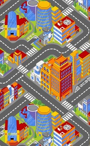 AW Verkeerskleed Grote Stad 100 X 165 cm