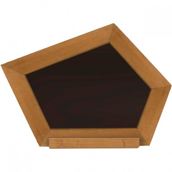 AXI Krijtbord crooked zwart 41 cm