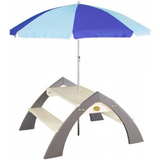 AXI Kylo picknicktafel met parasol 119 cm