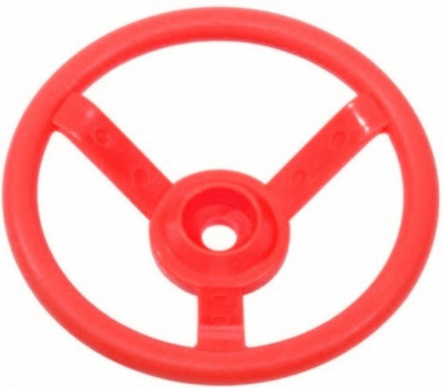AXI Stuurwiel voor speelhuisje 29 cm rood