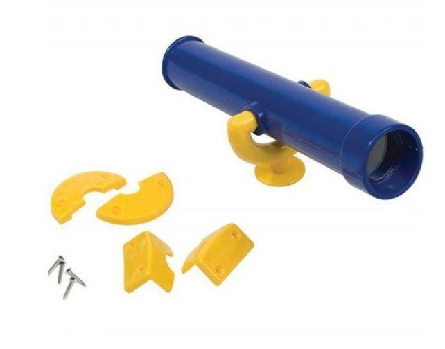 AXI telescoop voor speeltoren blauw/geel 30 cm