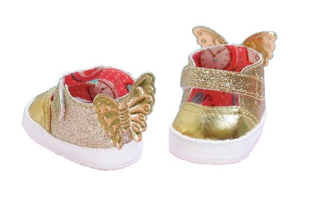Baby Annabell ballerina's goud 6,5 cm