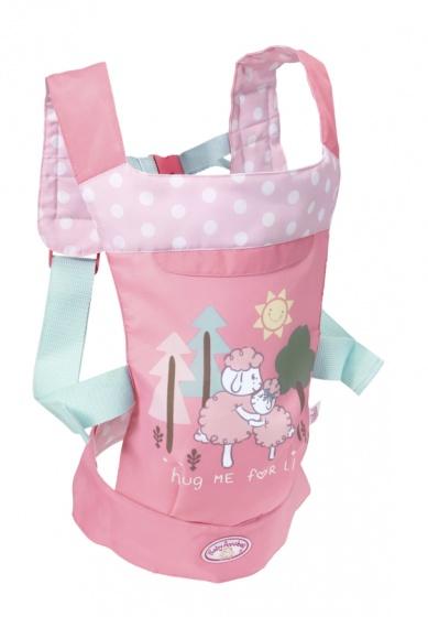 Baby Annabell draagzak voor pop tot 43 cm roze