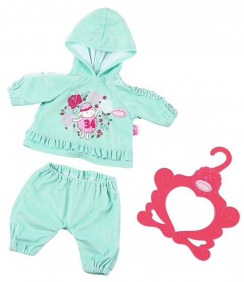 Baby Annabell kledingset Baby Suits groen 3 delig 43 cm