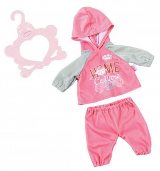 Baby Annabell kledingset Baby Suits roze 3 delig 43 cm