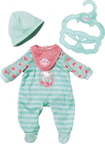 Baby Annabell kledingset blauw 3 delig