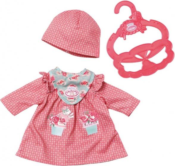Baby Annabell kledingset rood 3 delig
