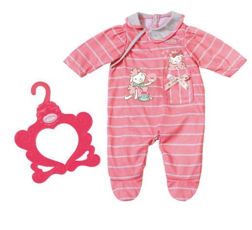 Baby Annabell kledingset roze 2 delig 43 cm