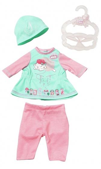 Baby Annabell kledingset voor pop tot 36 cm groen 4 delig
