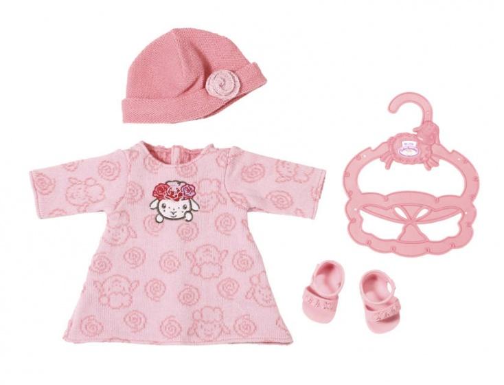 Baby Annabell kledingset voor pop tot 36 cm roze 3 delig
