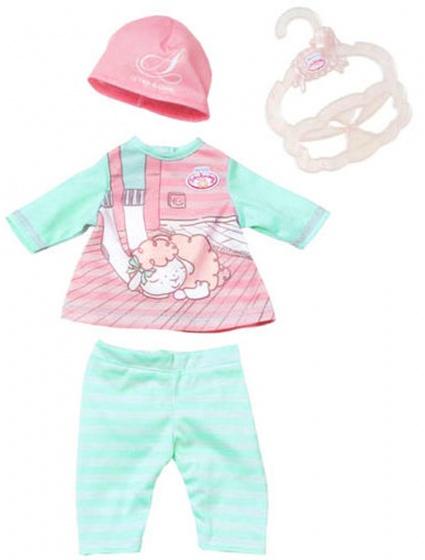 Baby Annabell kledingset voor pop tot 36 cm roze 4 delig