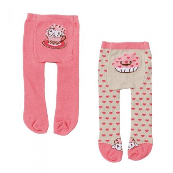 Baby Annabell maillot 2 stuks roze hartjes 22 cm