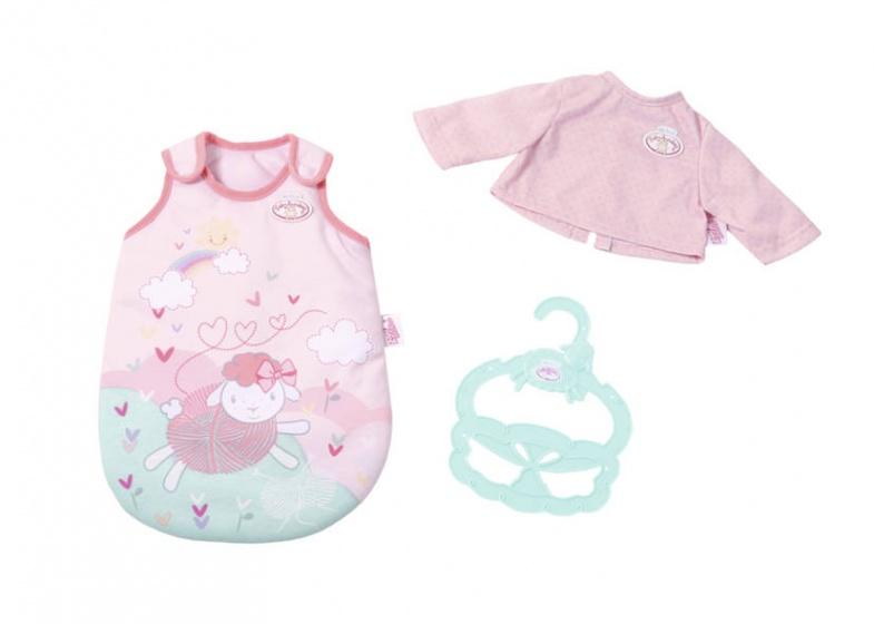 Baby Annabell poppenslaapzak en shirt voor pop tot 36 cm roze