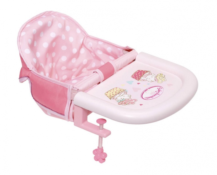 Baby Annabell Table Feeding Chair Doll feeding chair
