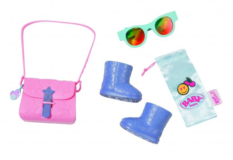 BABY born accessoireset Boutique 43 cm roze/paars/blauw