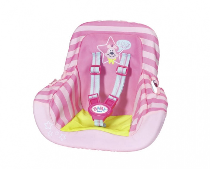 BABY born autostoeltje roze