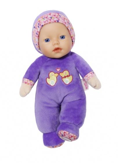BABY born babypop Cutie voor baby's 26 cm paars