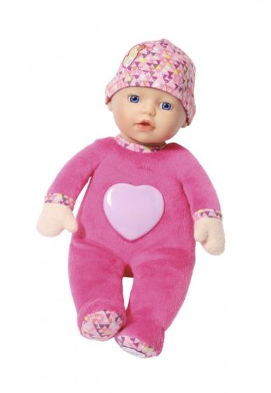 BABY born babypop voor baby's met licht en geluid 30 cm roze