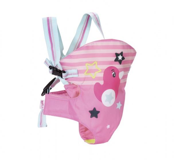 BABY born draagzak roze voor pop tot 43 cm