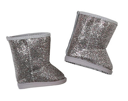 BABY born winter boots 43 cm silver