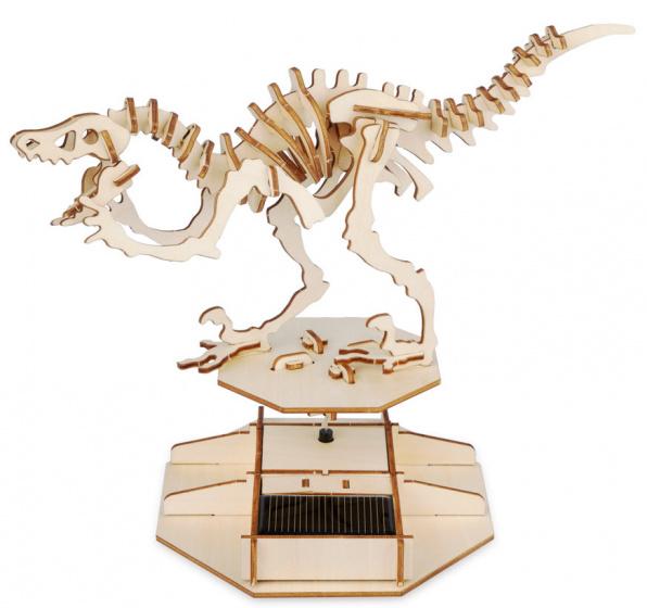 Balvi 3D puzzel Dinosaurus 30,5 x 27,5 cm hout blank