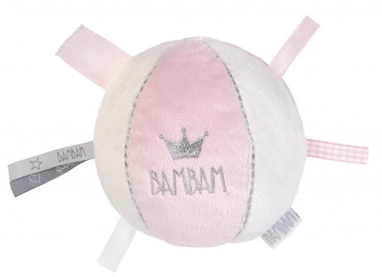BamBam zachte bal met rammel roze