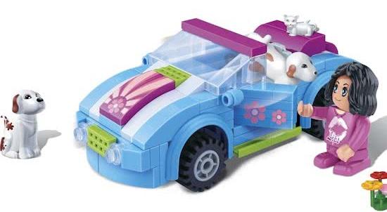 BanBao Trend City Cabriolet 6119