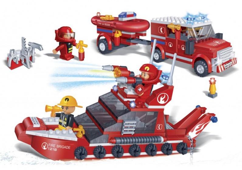 BanBao brandweerboot -