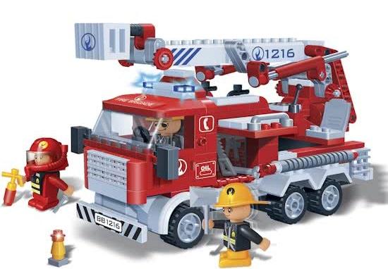 BanBao brandweerwagen -