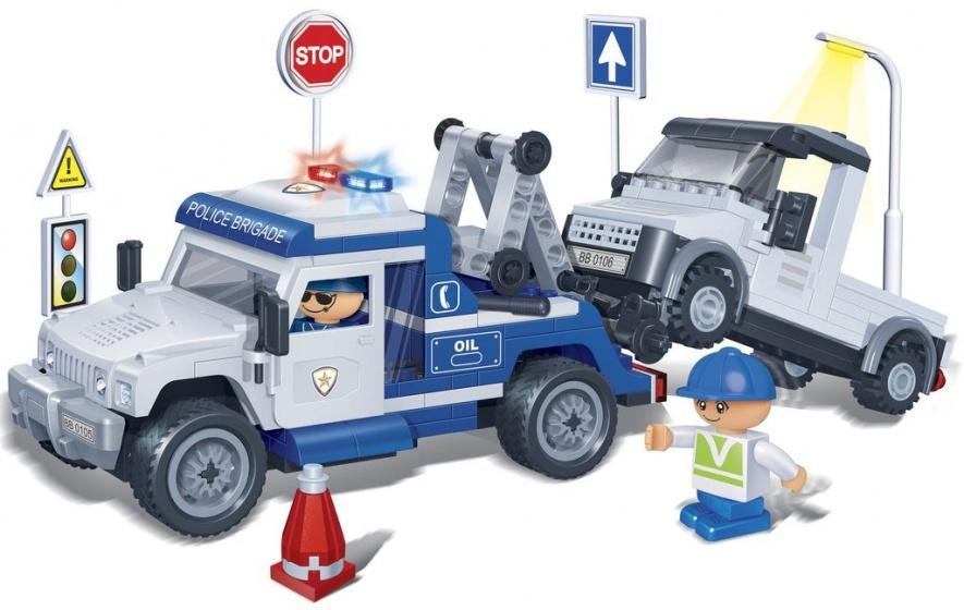 BanBao politiesleepwagen -