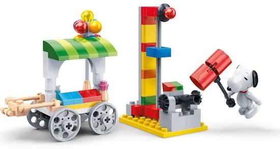 BanBao bouwpakket Snoopy kermis 107 delig
