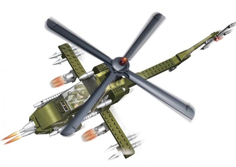 BanBao Apache helikopter
