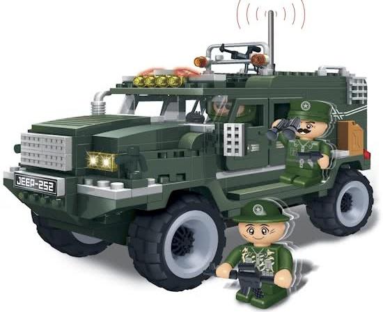 BanBao Leger Jeep Humvee 8252