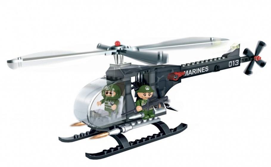 BanBao bouwpakket WDF M2 Helicopter 90 delig