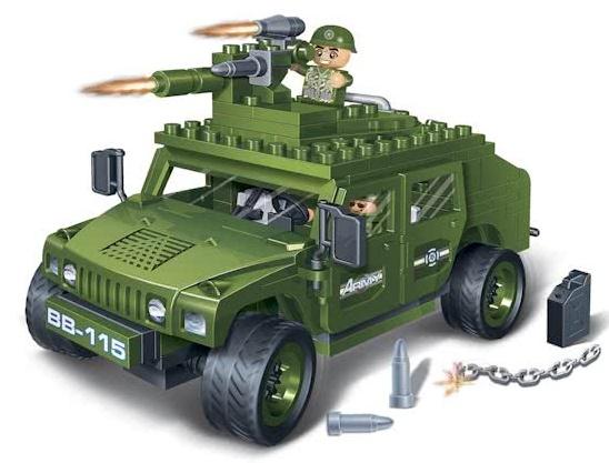 Banbao Leger Brave Warrior Jeep 8842