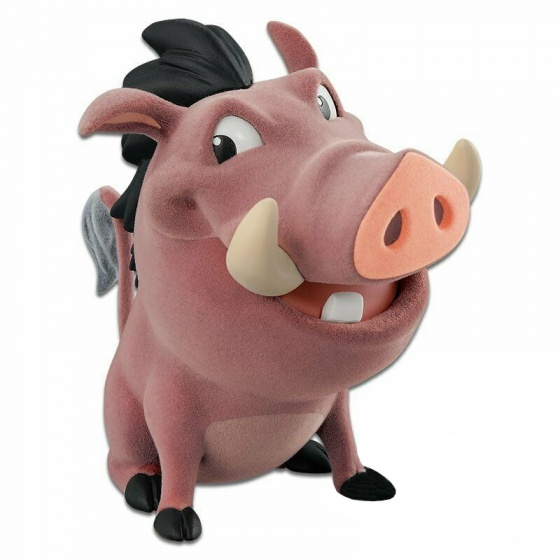 Banpresto Disney The Lion King Pumbaa 9 cm bruin
