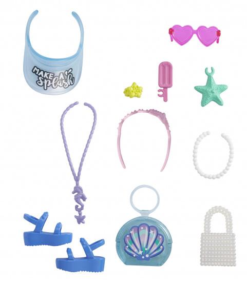 Barbie accessoires tienerpoppen schelptas junior 11 delig