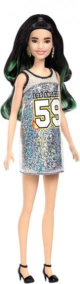 Barbie Barbie Fashionistas: zilver hiphop 29 cm