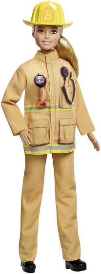 Barbie Careers 60e verjaardag: brandweervrouw 29 cm