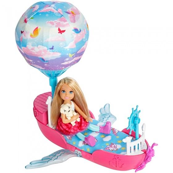 Barbie Chelsea's magische boot 27 cm
