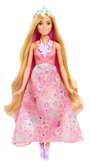 Barbie Dreamtopia Color Styling prinses blond 33 cm