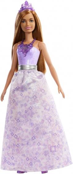 Barbie Dreamtopia tienerpop meisjes paars 28 cm (FXT15)